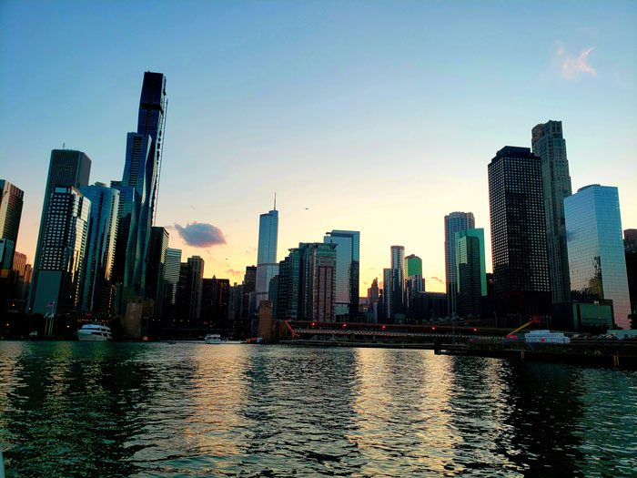 City Skyline of Chicago - Motivation Excellence Sales Incentive